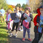 PVP 3rd graders look for native plants
